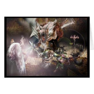 ドラゴンの隠れ家 カード