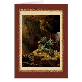 ドラゴンの隠れ家(赤いフレーム) カード