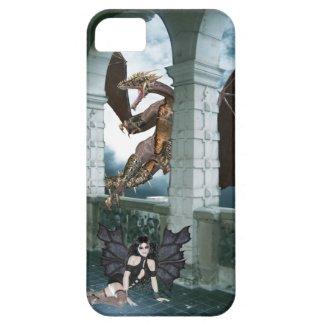 ドラゴンの隠れ家 iPhone 5 ケース