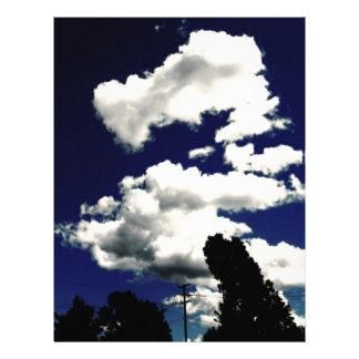ドラゴンの雲 レターヘッド