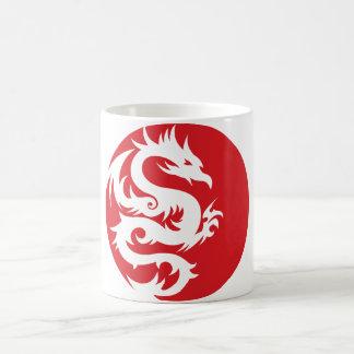 ドラゴンの頂上 コーヒーマグカップ