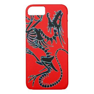 ドラゴンの骨組化石のiPhone 7の場合 iPhone 8/7ケース