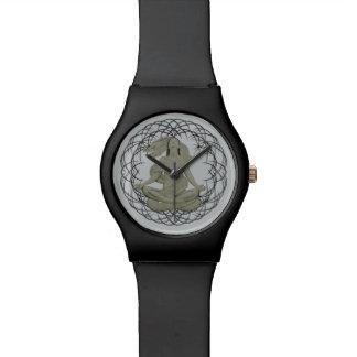 ドラゴンの黙想の腕時計 腕時計