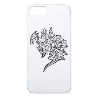 ドラゴンのiPhoneの場合の白 iPhone 8/7ケース