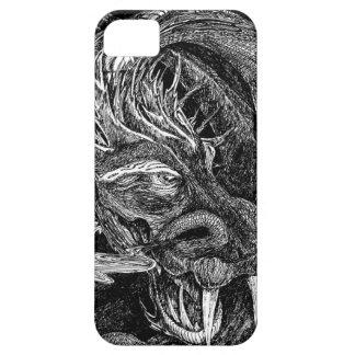 ドラゴンのiPhone 5のやっとそこに場合 iPhone SE/5/5s ケース