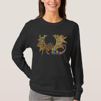ドラゴンのSteampunkのTシャツ Tシャツ