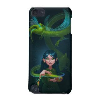 ドラゴンを持つ女の子 iPod TOUCH 5G ケース