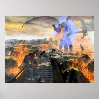 ドラゴンを破壊して下さい ポスター