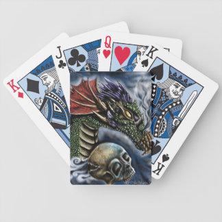 ドラゴンカードが付いている演劇 バイスクルトランプ