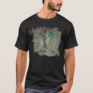 ドラゴン及びアライグマのTシャツ Tシャツ