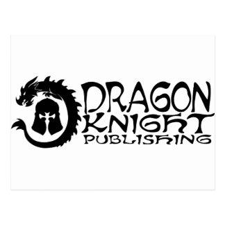ドラゴン騎士出版のロゴ ポストカード
