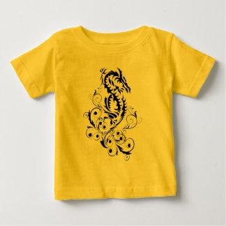 ドラゴン20の黒 ベビーTシャツ