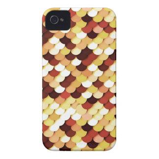 """""""ドラゴン""""は-チョコレート、日焼け、錆およびクリームをはかりで測ました Case-Mate iPhone 4 ケース"""