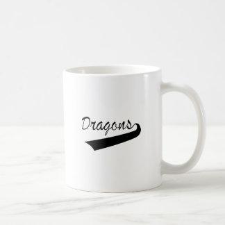 ドラゴン コーヒーマグカップ