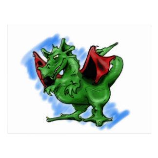 ドラゴン ポストカード