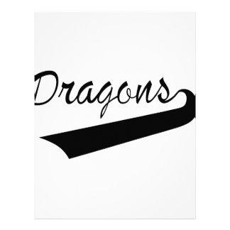 ドラゴン レターヘッド