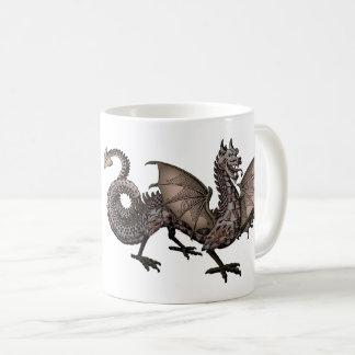 ドラゴン、神話的な獣 コーヒーマグカップ