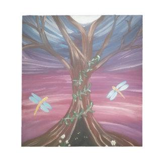 ドラゴンfly.jpg生命の樹 ノートパッド