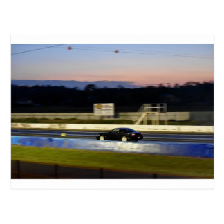ドラッグのオーストラリア日産シルビアカーレース ポストカード