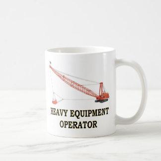 ドラッグライン コーヒーマグカップ