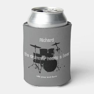 ドラマーのカスタムはドラムが付いているクーラーできます 缶クーラー