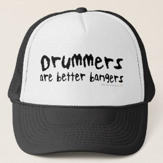 ドラマーはよりよい爆竹のおもしろいなトラック運転手の帽子です キャップ