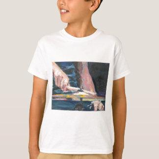 ドラマー手 Tシャツ