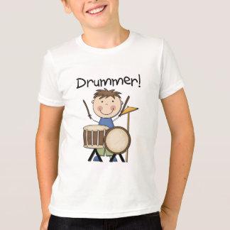 ドラマー-男性のTシャツおよびギフト Tシャツ