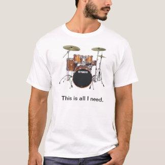 ドラマー#1 Tシャツ