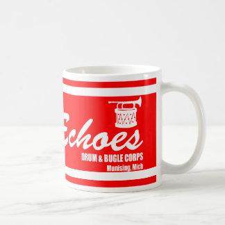 ドラムおよびビューグル コーヒーマグカップ