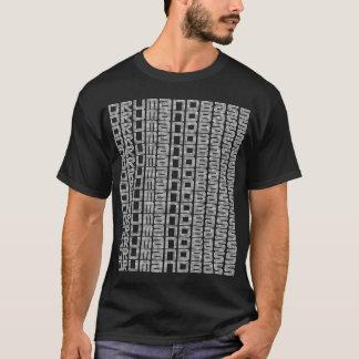 ドラムおよび低音のTシャツ Tシャツ