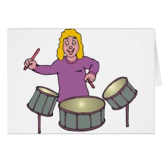 ドラムプレーヤー カード
