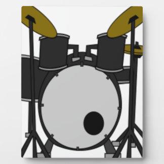 ドラム一定のスケッチ フォトプラーク