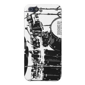 ドラム一定の電話箱 iPhone 5 CASE