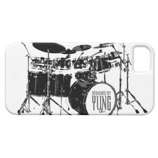 ドラム一定の電話箱 iPhone SE/5/5s ケース