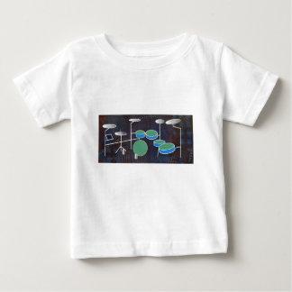 ドラム世界 ベビーTシャツ
