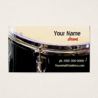 ドラム名刺 名刺