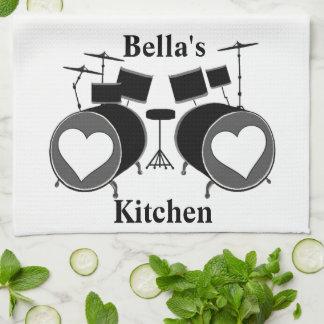 ドラム愛 キッチンタオル