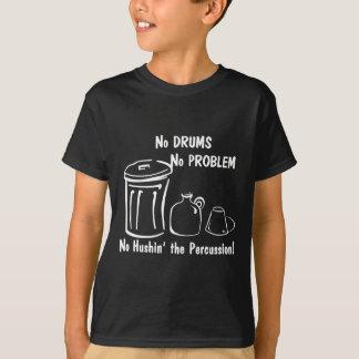 ドラム無し問題無し Tシャツ