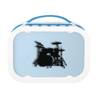 ドラム音楽デザイン ランチボックス