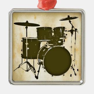 ドラム/ドラム メタルオーナメント