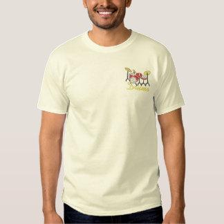 ドラム 刺繍入りTシャツ