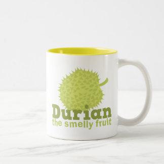 ドリアン臭いフルーツ ツートーンマグカップ