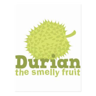 ドリアン臭いフルーツ ポストカード