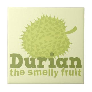 ドリアン臭いフルーツ(東南アジアから) タイル