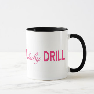 ドリルのベビーのドリルのマグ マグカップ
