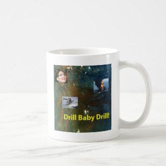 ドリルのベビーのドリル コーヒーマグカップ