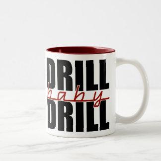 ドリルのベビーのドリル ツートーンマグカップ