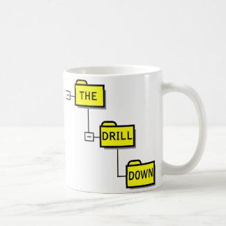 ドリルは襲います コーヒーマグカップ