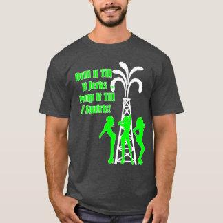ドリル及び急な動き Tシャツ